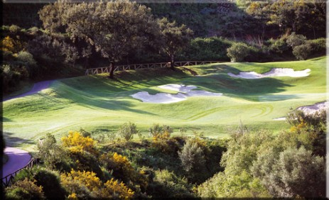 Golf in Spanien Green